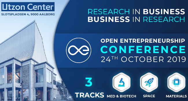 Open Entrepreneurship Conference 2019: RESEARCH IN BUSINESS – BUSINESS IN RESEARCH
